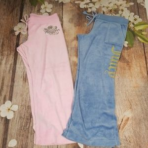 Juicy Couture  2 Tracksuit Pants bundle